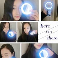 Wholesale Filling Case - LED Light case Phone Light Beauty Selfie Ring Flash Fill light for iPhone 5 6 6s plus 7 7 plus Samsung s6 s7