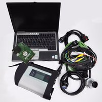 mercedes laptop venda por atacado-Ferramenta de diagnóstico mb estrela c4 wi-fi com xentry das epc software 2019.03 hdd 500 gb + D630 laptop para mercedes star diagnóstico