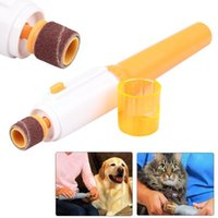 Mascota Perro Gato Profesional Garra automática Nail Grooming Cuidado Grinder Electric Grooming Trimmer Clipper Taladro Nail Pedicure File Kits Manicura