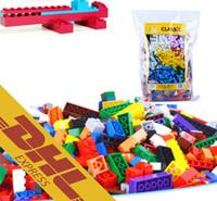 Wholesale Diy Toys For Kids - Wholesale 1000pcs lot DIY Bulk Building Blocks 14 Types 10 Colors Building Bricks Construction Brick Building Blocks Toys for Kids