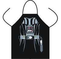 Wholesale Wonder Woman Wholesale - Apron Star Wars aprons Spiderman Wonder women Anime Cartoon Character Series Kitchen Apron Funny Personality Cooking apron Christmas