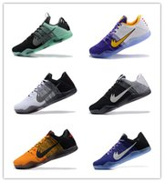 Wholesale Gold Elastic Thread - Hot sale 2017 New Kobe XI Elite Mens Basketball Shoes top quality Sneakers Cheap KB 11 Boots free shipping