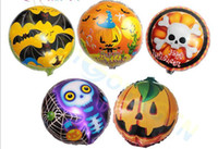 18inch kid cartoon party halloween kürbis aluminium balloons Schädel kopf festival folienballon dekoration Kamera Requisiten