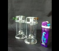 sparkling water bottles - Transparent Sparkling Water Bottle Glass Bongs Accessories Glass Smoking Pipes colorful mini multi colors Hand Pipes Best Spoon glas