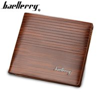 Men Wallet Leather Vintage Purses High Quality Money Bag Cartões de crédito New Dollar Bill Wallet preço por atacado!