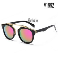 Wholesale grey market - sunglasses for women korea oval face case side shields china colour glass wholesale brand Uv protection market europe wholesalers with box