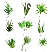 Wholesale Office Decoration Festival - Artificial Succulents Green Plants for Home Table Office Chamber Balcony or Wedding Birthday Party Christmas Festival Table Decoration