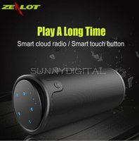 Zealot S8 Portable Wireless Bluetooth Speaker Touch Control Sport Bicycle HiFi Stereo Column Subwoofer Suporte TF Card AUX