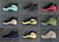Pros Bon Marché D'halloween Pas Cher-Air Pro Island Green Vachetta Tan Penny Hardaway Hommes Basketball Shoes Sneakers Cheap One Shine Metallic Gold Red Copper Eggplant Chaussure de sport