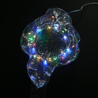 Wholesale- led Balloon lights decoração de natal para casa Helium Ballon Transparente Baloon Wedding Gift Bags Wrapping Supplies Eventos
