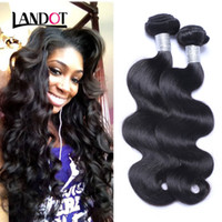 Wholesale Wholesale Eurasian Virgin Hair - Peruvian Malaysian Indian Cambodian Brazilian Filipino Eurasian Body Wave Virgin Hair Extensions Natural Color Remy Human Hair Weave Bundles