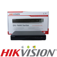 Wholesale 16 Channel Ip Nvr - HIKVISION 16 CHANNEL VIDEO RECORDER IP NVR 16 POE 6MP 1080P ONVIF VCA P2P 160MB