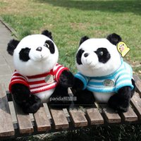 Wholesale Live Female Doll - Post panda living museum, Sichuan tourist souvenir, panda doll, Chengdu gift plush toy doll