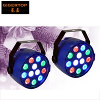 Wholesale Christmas Wash Light - Freeshipping 100x Super Bright Mini Led Par Cans 12x1W RGBW 4 Color Stage Wash Lighting for Christmas Party Club DMX 512 Control TP-P58
