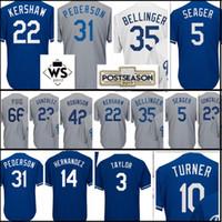 98629c5d8 Baseball Men Short Men s 3 Chris Taylor 14 Enrique Hernandez 5 Corey Seager  22 Clayton Kershaw