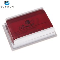 Wholesale Transparent Violin - Wholesale- High Quality All natural Bows Rosin for Violin Viola Cello Strings Perfect Violin Accessory Transparent Red
