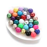Wholesale 16mm Round Beads - Multicolor 16mm Chime Ball Copper Antenatal Training Bell Beads Metal Materials for Pendants Maternity Pregnant Necklace