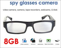 Wholesale Function Digital Camera - New product HD Spy Glass Camera with PC Camera Function 8GB memory Hidden Digital Video Recorder G3000