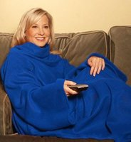 Wholesale Lazy Blanket - Blanket With Sleeves Television Blankets Thermal Sleeve Rug Lazy Creative Carpet Snuuggie Keeps Your Warm And Hands Free 14 5yh R