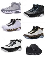 Wholesale Day Heating - Hot Sale Newest Retro 9 Anthracite White Black Oregon men basketball shoes retro IX NY Sneaker Heat mens sport trainers