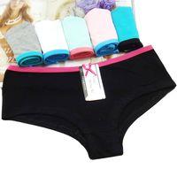 Wholesale Lady Panty Stock - (MOQ 12pcs) Yun Meng Ni Sexy Underwear Breathable Cotton Ladies Panties Stock Wholesale Sexy Panty Lingerie