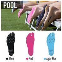 pad shoes - Nakefit Adhesive Shoes Waterproof Foot Pads Stick On Soles Flexible Feet Protection Sticker Soles Shoes For Beach Pool OOA2038