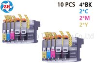 Wholesale Wholesale Brother Ink Cartridges - ZH 10 PCS Ink Cartridges LC223 Compatible For Brother MFC-J5625DW J5720DW DCP-J4120DW MFC-J4420DW J4620DW J4625DW J5320DW Printer
