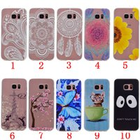 Wholesale Galaxy S3 Phone Skin Cover - Phone Case For Samsung Galaxy S3 S4 S5 S6 S7 edge Beautiful Dandelion Soft TPU Back Cover Skin Shell Capa Celular
