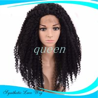 Wholesale Sythetic Hair Wigs - Sythetic Lace Front Wig Cheap Brazilian hair Full Lace Front Wigs Long Synthetic Lace Front Wigs With Baby Hair