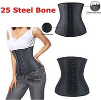 Super Strong 25 Steel Boned 100% Lattice Vita Cinchers Body Shaper Lattice Vita Trainer Dimagrendo la cinghia per le donne Stringa di modellazione