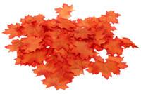 искусство кленового листа оптовых-Искусственная Ткань Кленовые Листья 3000 Шт. Многоцветный Осень Осень Лист Для Искусства Скрапбукинг Свадьба Спальня Стены Партия Декор Craft