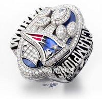 Wholesale Dropshipping Ring - Presale Dropshipping Replica Super Bowl LI 2016 NE Patriot Tom Brady Number 12 Championship Ring Size 8-14