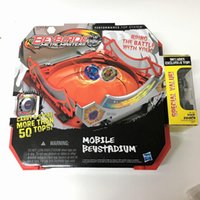 Wholesale Gift Sets Wholsale - Wholsale For Hasbro Beyblade metal masters Burst Battle Mobile Beystadium with BB-78A set gift Free Shipping TA002