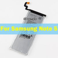 Wholesale Batterie Galaxy Note - For Samsung Galaxy Note 5 N9200 N920t EB-BN920ABE 3000mAh New Replacement Li-ion Battery Batterie Batteria Akku