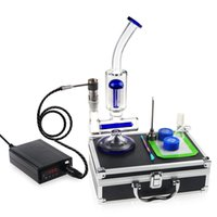 Wholesale Heater Cheap - REANICE (US standard) Temperature Controller Box Portable Electronic Heater controller+ Cheap Blue recycler glass Water Bong Luxury