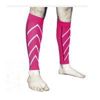 Wholesale Green Pain - new 100pcs COMPRESSION Running Calf Leg Sleeve Relief Leg Pain Outdoor Sport Unisex Socks