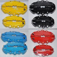 "Wholesale Bmw Wheel Parts - 4pcs Disc Caliper Brake Cover For brembo logo 1 3 5 Series E36 E46 E28 Z4 535i x6 x5x3 z4 for Mini copper 14' 15"" 16"" 17"" 18"" wheels"