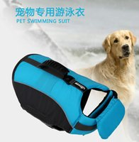 Wholesale Wedding Dresses Costs - Free shipping high-quality factory direct pet life-saving clothing chest straps swimming training essential pet new clothing new low-cost pr