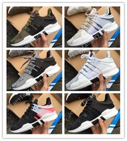 Wholesale Limited Edition Sneakers Man - 2017 with box Newest Ultra Boost support 93 EQT Support Limited edition black pink Sneakers womens running Shoes For men sports shoe 36-45