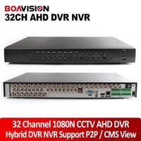 Wholesale Sata Hdd Tb - 32CH 1080N AHD DVR For Analog HD AHD CCTV Camera NVR HVR For Network IP Camara Multilanguage Support 2* SATA HDD,CMS P2P View
