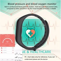 Wholesale Camera For F1 - Smart Band blood Pressure Watches F1 Smart Bracelet Watch Heart Rate Monitor Smart Band Wireless Fitness For Android IOS