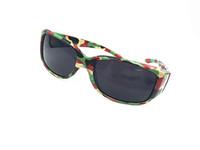 Wholesale Eyewear Children - Sport Kids Camouflage Sunglasses Boy and Girl Sun Glasses Child Mirror Coating Eyewear 24Pcs Lot Free Shipping