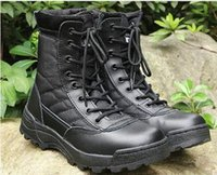Taille grande 37--45 Men Combat Boots Chaussures Chaussures tactiles masculines Chaussures désertiques Camouflage Bottes tactiques militaires Chaussures masculines