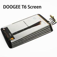 ingrosso codici di mela-All'ingrosso-Nuovo originale DOOGEE T6 LCD e Touch Screen 1280x720HD 5,5 pollici parti di riparazione Assemblea per DOOGEE T6.Code è F15T55077-A01-F01