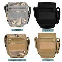 Wholesale Acu Holster - Multifunctional Camouflage ACU Outdoor sports Waist Bag Shoulder Messenger bag phone bags Cases pack Tactical Holster