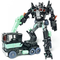 Wholesale Educational Toys For Children Robots - Transformer Toys Robot Puzzle Educational Toy for boys Children new model toy Christmas gift Black color toys for over 3 years kids