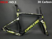 Wholesale Mcipollini Frame - Newest MCipollini T1000 1K or 3k frame Full Carbon Road Bike Frame,fork,headset,seatpost bicycle frameset