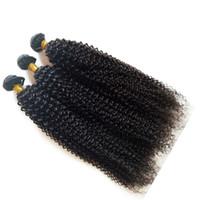 ingrosso capelli vergini brasiliani 5pc-Capelli umani vergini brasiliani non trasformati prezzo a buon mercato 3 4 5pc / lotto arricciatura crespa all'ingrosso malesi estensioni dei capelli mongolo DHgate