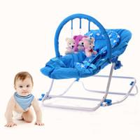 Wholesale Baby Portable Rocker - Popular Multifunctional Baby Rocker Newborn Portable Carrier Rocking Chair Toddler Sleeping Seat Swing Rocking Cradle VT0591