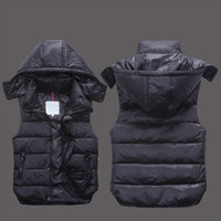 Wholesale Womens Vest Xs - Designer brand Men and womenwinter down vest Classic feather weskit jackets womens casual vests coat outer wear size:XS-XXL MO